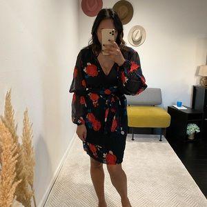 Club Monaco Wrap Dress